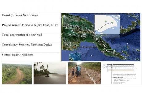 Papua-New Guinea: Oriomo - Wipim Road